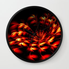 Feuerblume Wall Clock