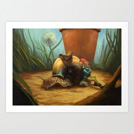 Noble Steed Art Print