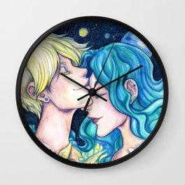 Uranus and Neptune Wall Clock