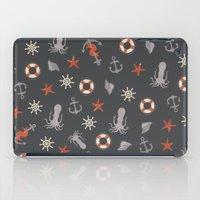 nautical iPad Cases featuring Nautical by Schwebewesen • Romina Lutz