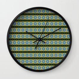 Sky Eye Tiles Wall Clock