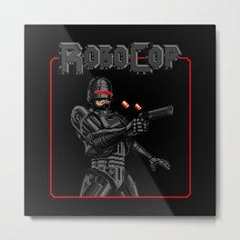 Ultimate Robocop Metal Print
