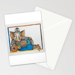 Reclining Ganesha Stationery Cards