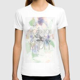 Would You Kindly - Bioshock T-shirt