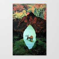 tame impala Canvas Prints featuring impala by Hugo Barros