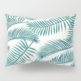 Palm Leaf Pattern Pillow Sham