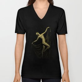 Deco Goddess Unisex V-Neck