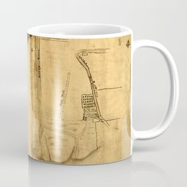 Map Of The Bowery 1760 Coffee Mug