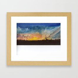 But I Was Imprisoned By God Framed Art Print