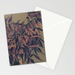 Ash-tree, vintage version Stationery Cards