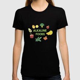 Alkaline Foods Healthy Diet T-shirt