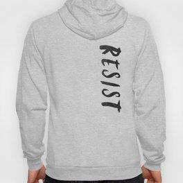 RESIST 5.0 - Black on Teal #resistance Hoody
