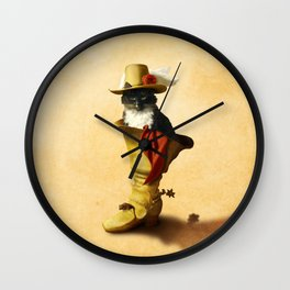 Little Puss in Boots Wall Clock