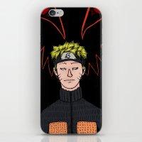 naruto iPhone & iPod Skins featuring Naruto by nu boniglio