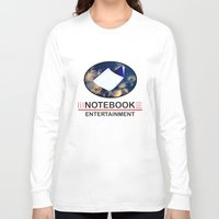 notebook Long Sleeve T-shirts featuring Notebook Entertainment by NotebookFilms