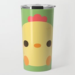 Cute rooster Travel Mug