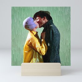 Singin' in the Rain - Green Mini Art Print