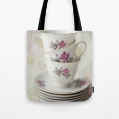 tea leaves tea loves loves tea lives tea leaves tea? never. Tote Bag