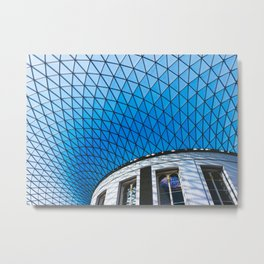 Great Court at the British Museum, London Metal Print