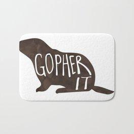 Gopher it! Bath Mat