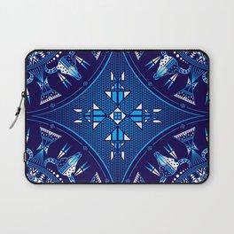 buffalo Gathering blue Laptop Sleeve