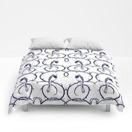 Love Birds Pattern Comforters