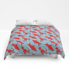 MEGASHARK vs GIANT OCTOPUS Pattern Comforters