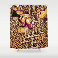 body Shower Curtains featuring Body by Andrej Balaz