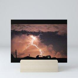 Mister Lightning Mini Art Print
