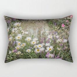 Garden of Eden I Rectangular Pillow