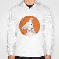 sheep Hoodies featuring Sheep by KeithKarloff