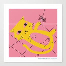 #30daysofcats 25/30 Canvas Print