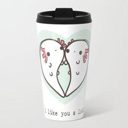 I like you a lotl axolotls Travel Mug