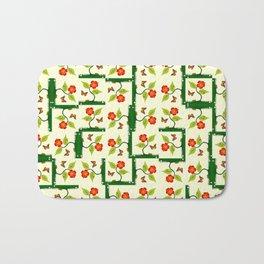 Plants and flowers Bath Mat