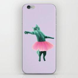 ballerina Cat iPhone Skin