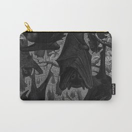 Gothic Bats Illustration  Carry-All Pouch