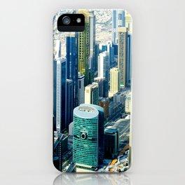 Dubai cityscape iPhone Case