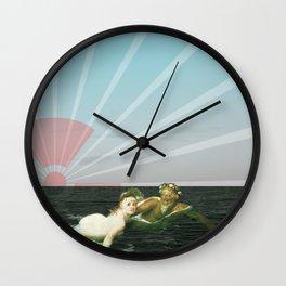 atmosphere 33 · Fukushima mon amour Wall Clock