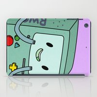 bmo iPad Cases featuring BMO by Kyrsten Carlson