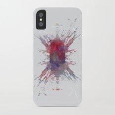 Inknograph I - Ink Blot Art iPhone X Slim Case