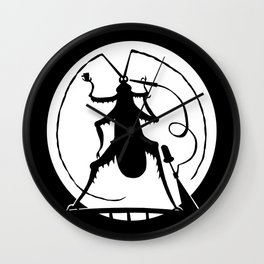 Party in the full moon Wall Clock