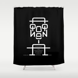 Apophenia Shower Curtain