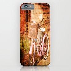 pink bike iPhone 6s Slim Case