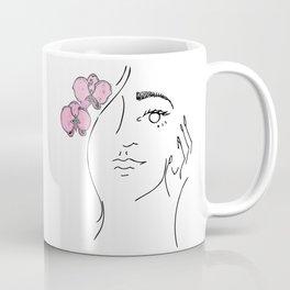 Lady Orquidea Coffee Mug