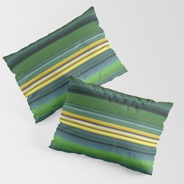 The Yellow Line Pillow Sham