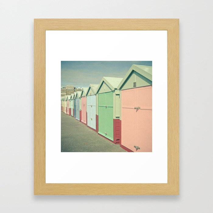 By the Sea Framed Art Print