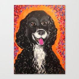 Moe Canvas Print