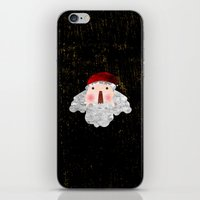 santa iPhone & iPod Skins featuring Santa  by Inmyfantasia