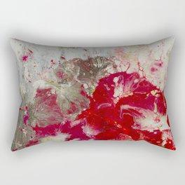 Petunias Rectangular Pillow