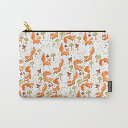 Little Foxes Carry-All Pouch